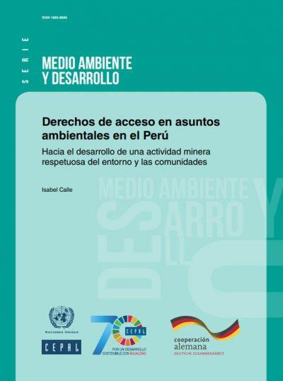 Derechos de acceso en asuntos ambientales en el Peru
