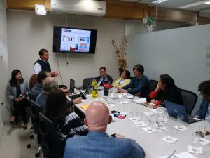 Actividad de intercambio – Implementación de EITI a nivel subnacional. Colombia y Perú.