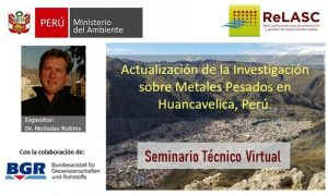 ReLASC realiza primer seminario técnico virtual sobre PAM en Huancavelica, Perú, con apoyo de BGR/MinSus