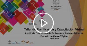 Taller de planificación de la Auditoría Coordinada en Pasivos Ambientales Mineros