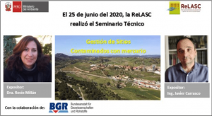 Seminario-técnico de ReLASC sobre la remediación de la mina de Almadén