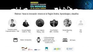 Webinar: Hacia la innovación minera en la Región Andina. Aprendizajes y desafíos