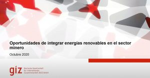 Hacia el fomento del uso de energías renovables en el sector minero de Colombia
